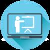تفاعل واختبارات وواجبات للدورة - التدريب الالكتروني